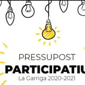 Ciutadans (Cs) La Garriga volverá a pedir una revisión del reglamento de los presupuestos participativos para que no se vuelvan a repetir los errores de las últimas ediciones